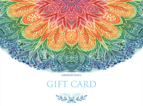 Kundalini Yoga U eGift Card