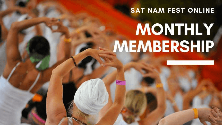Sat Nam Fest Monthly Online Membership