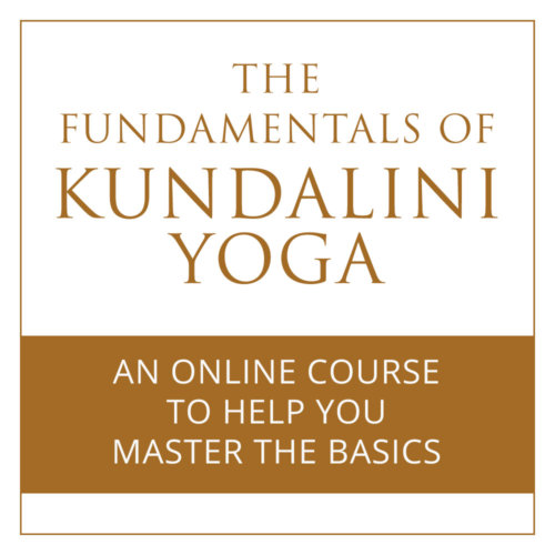 Ecourse - Fundamentals of Kundalini Yoga