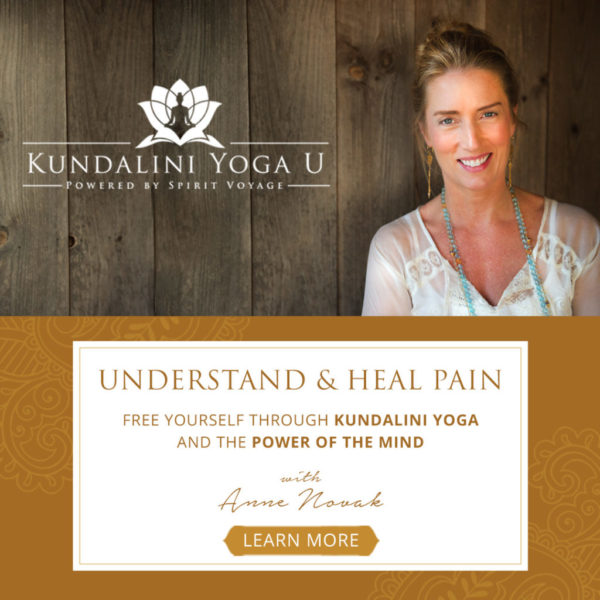 Understand and Heal Pain with Anne Novak